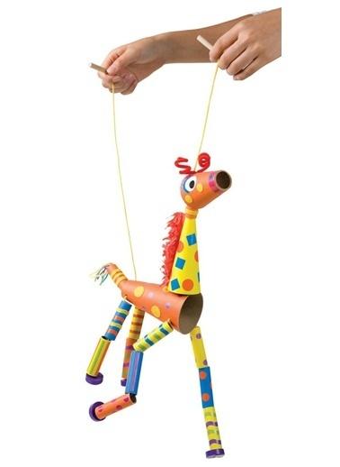 Alex 399F Kukla Yapalım Zürafa Orijinal Renkli